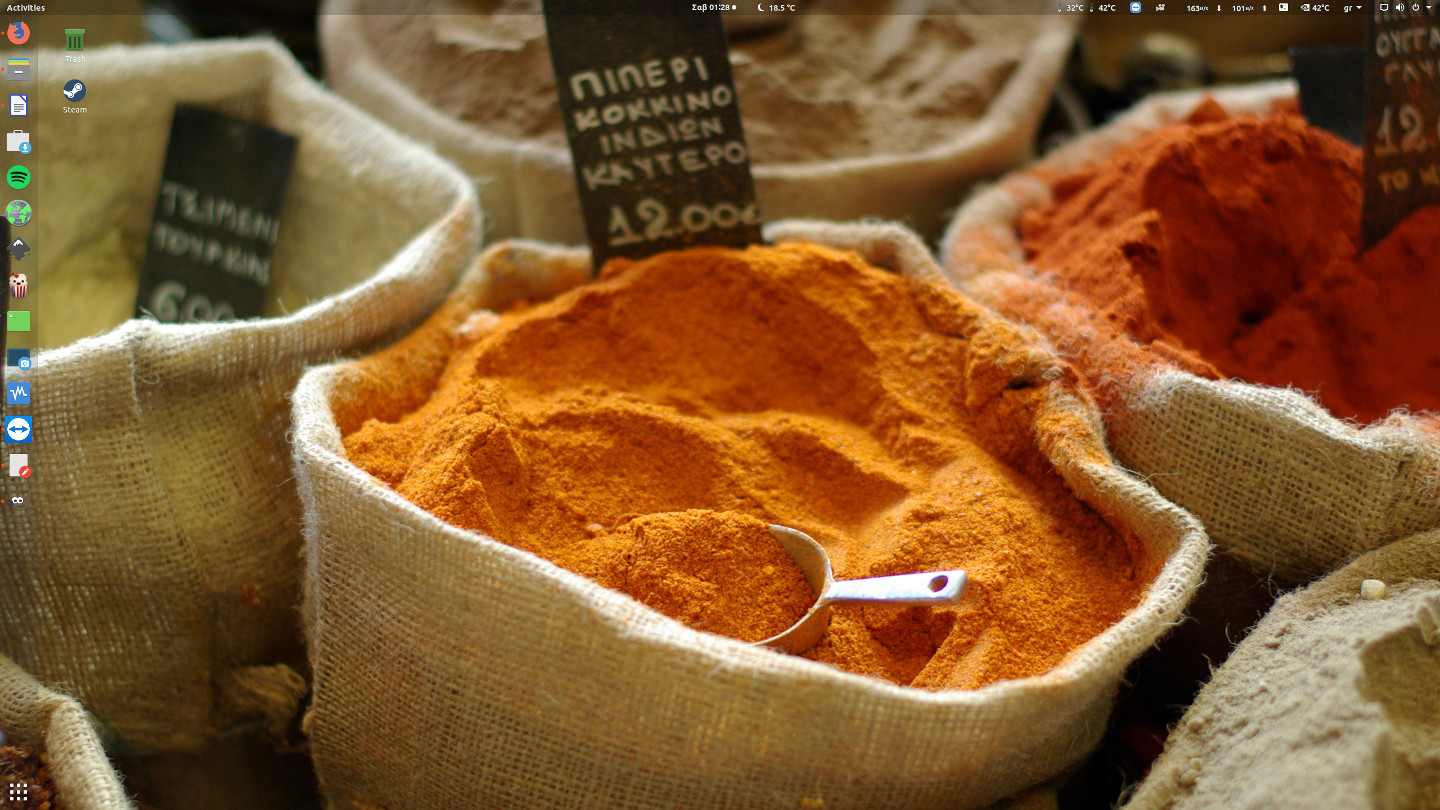 Spices in Athens wallpaper