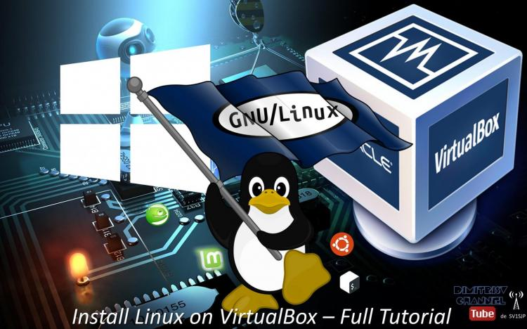 Install Linux on VirtualBox